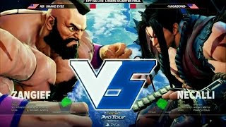 snake eyez zangief vs vagabond necalli cpt north america last chance qualifier