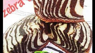Zebra Cake Without Oven