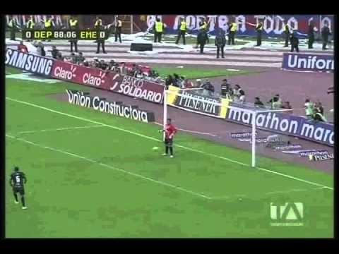Deportivo Quito vs Emelec (Final) Gol