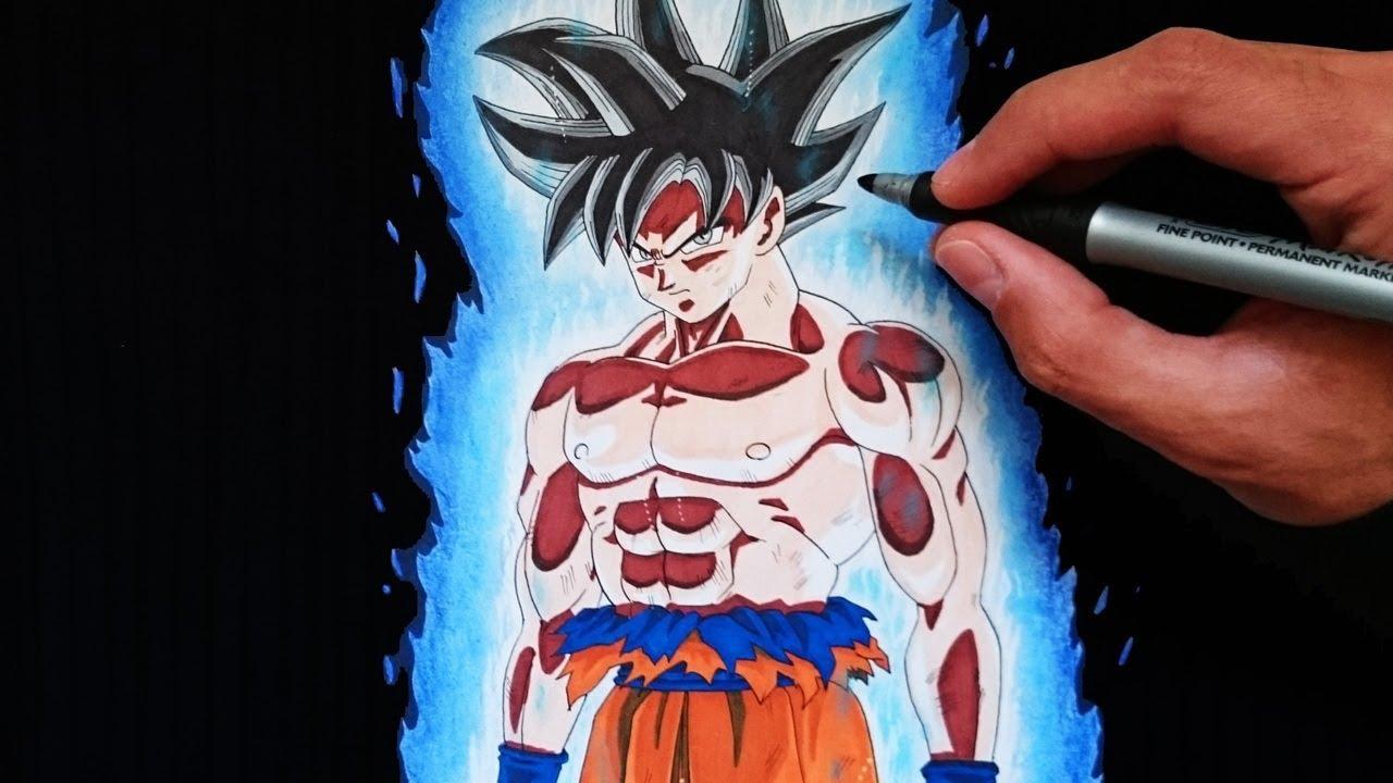 Como Dibujar A Goku Ultra Instinto Ultra Instinct Explicado Paso