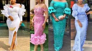 Latest Asoebi Styles Collection || African fashion #asoebi styles || Women's clothing lace asoe