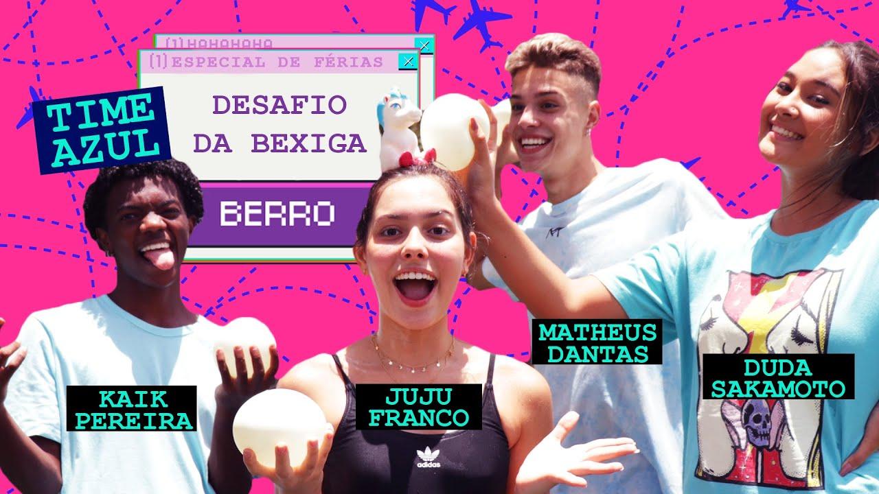 DESAFIO DA BEXIGA PARTE 1: TIME AZUL junta pontos para vencer o TIME VERMELHO no BERRO FÉRIAS