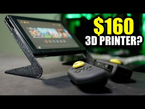 What can a $160 3D Printer Do?
