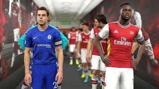Arsenal vs Chelsea ( PEPE Scored a Goal & an Assist) | PES 2019
