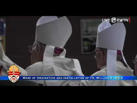 Installation Mass Bishop William A Wack, CSC - Archbishop Thomas Wenski Homily