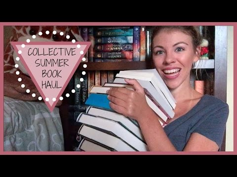 COLLECTIVE SUMMER BOOK HAUL | 2016