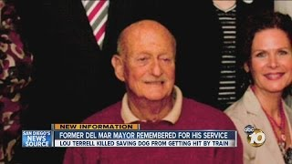 Man struck, killed by train was a former mayor of Del Mar: Lou Terrell remembered for his service