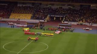 Malaysia vs Myanmar National Anthems AFF Suzuki Cup 2018
