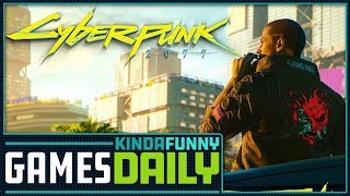 When Will We Play Cyberpunk 2077? - Kinda Funny Games Daily 08.24.18