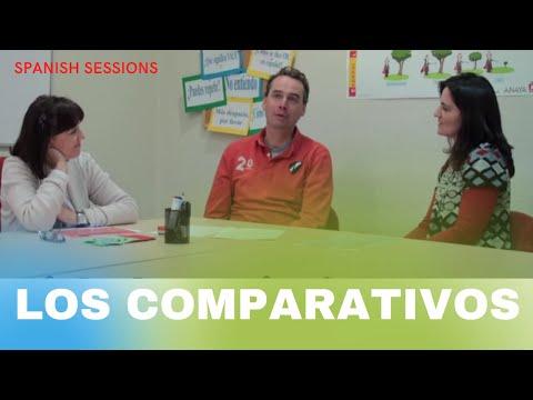 Spanisch Lernen - Comparativos