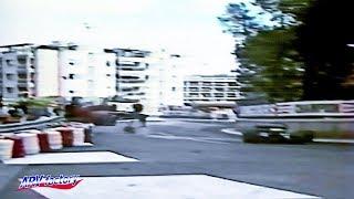 Patrick Tambay Big Crash 1986 F1 Monaco