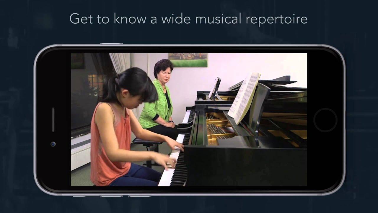 Juilliard Open Studios iOS App Trailer