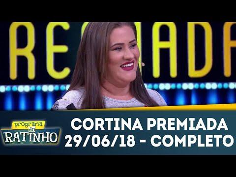 Cortina Premiada | Programa Do Ratinho (29/06/18)