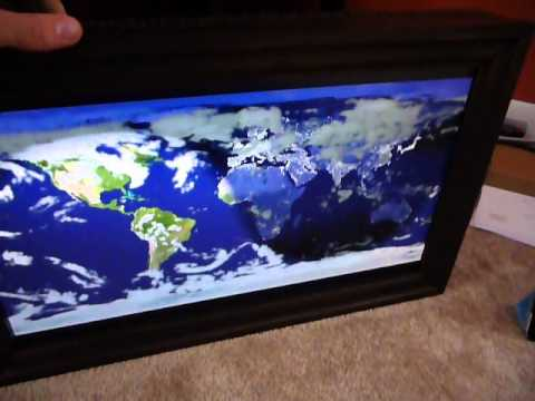 Raspberry Pi World Daylight Map Digital Picture Frame