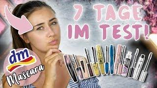 ICH TESTE 7 TAGE JEDEN TAG EINE DROGERIE MASCARA 😱| 16 STD TEST ☠️| Sara Isabel