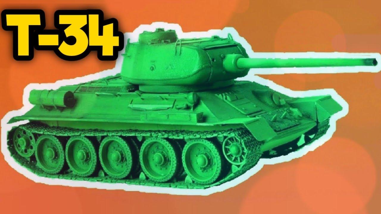 Мультики для малышей - Танк - Военная техника ...