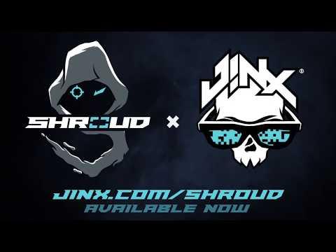 Shroud Has Arrived at JINX.com