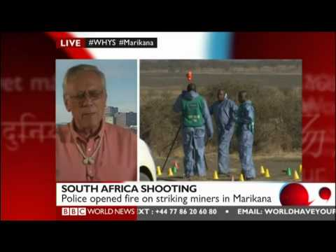 BBC World Have Your Say: South Africa mine shooting / Is Syria conflict spreading?