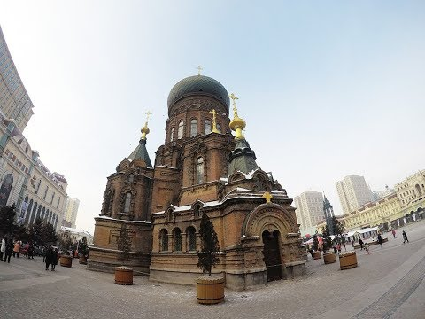 Trip to Harbin city, (Heilongjiang province, China) - Day 1 Vlog