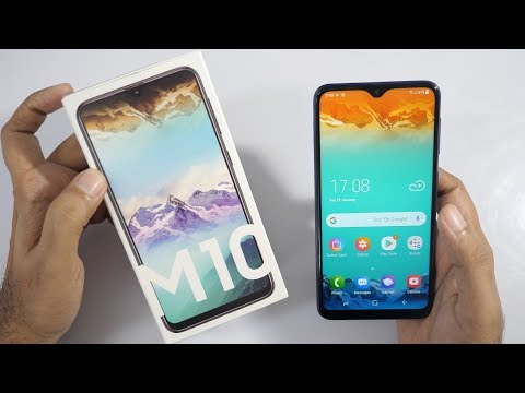 Samsung Galaxy M10 Budget Smartphone Unboxing & Overview