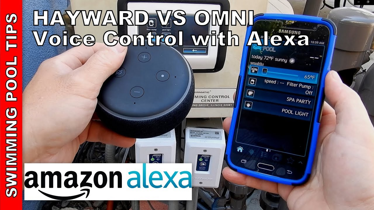 Filterpumpe Pool Amazon Hayward Vs Omni With Alexa Voice Control Set Up And Use Video