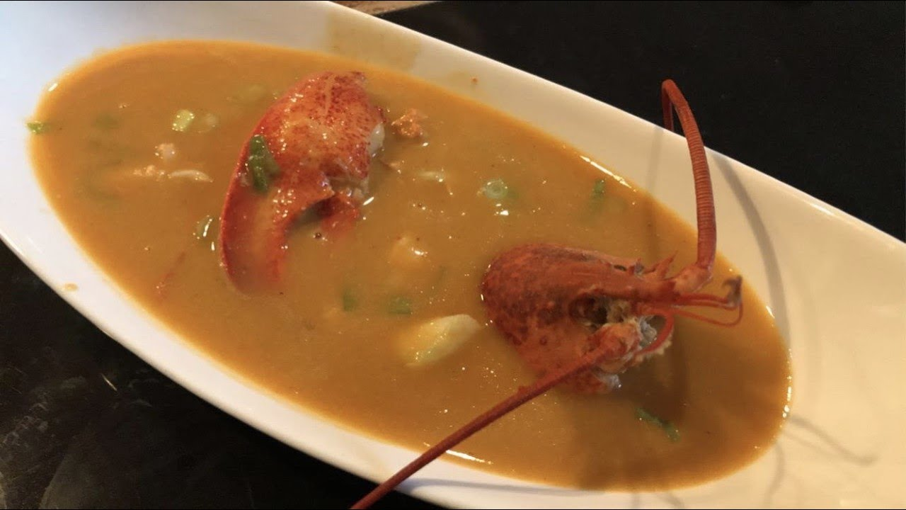 Traditional Lobster Bisque - YouTube