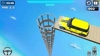 GT Mega Ramp Car Stunts Game | Android Game Play FHD - Free Games Download - Cars Games Download