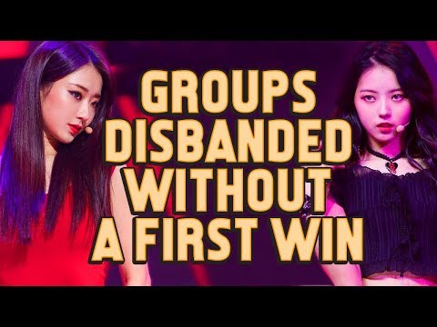 Kpop Groups That Disbanded Without Any Music Show Win