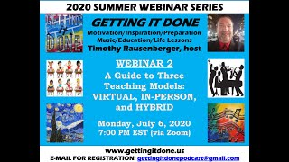 COVID-19 LESSON PLANS: Virtual, In-Person, Hybrid Models - INSPIRATIONAL | INTERACTIVE (Webinar 2)