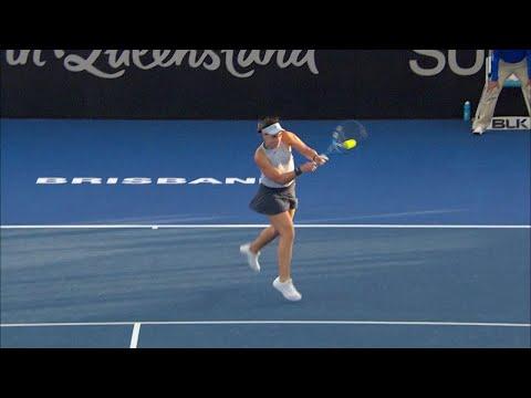 Bertens vs Konjuh Match Highlights (R1) | Brisbane International 2018
