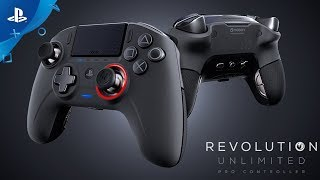 Nacon Revolution Unlimited | Officially Licensed Pro Controller for PS4