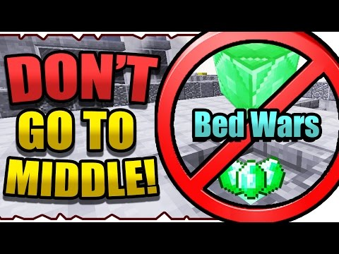 Bed Wars ❗ DON'T GO TO MIDDLE CHALLENGE! ❗ - 동영상