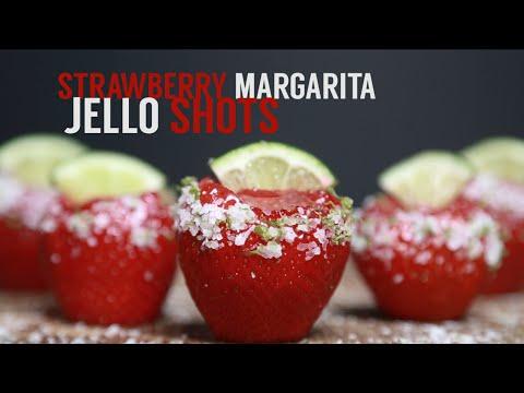 How to Make Strawberry Margarita Jell-O Shots | MyRecipes