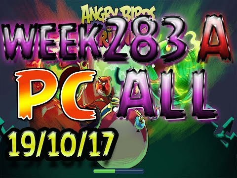 Angry Birds Friends Tournament All Levels week 283-A PC POWER-UP walkthrough