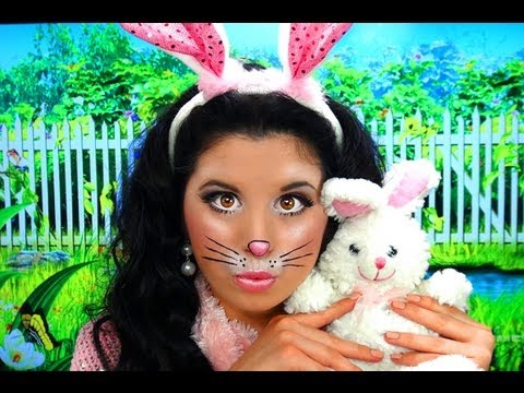 Cute Bunny Rabbit Costume Makeup YouTube