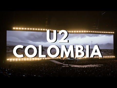 U2 Colombia 2017 Concierto - resumen, entrada, pantallas, y algunas canciones | Quiero viajar más