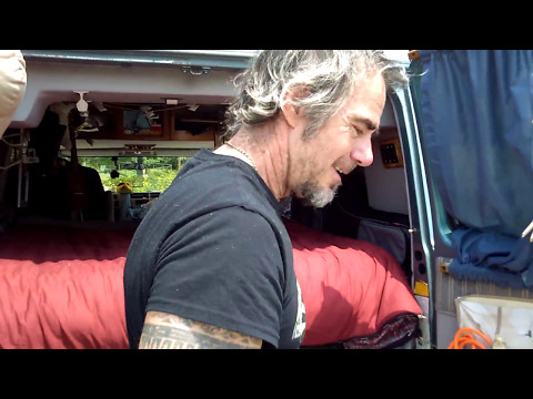 Van Dwelling Traveling Journalist- Guido Prussia- From Italy