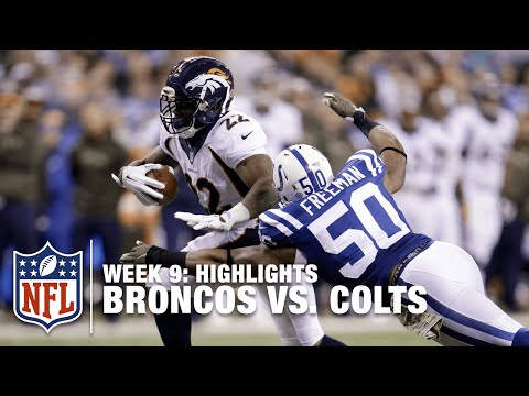 Broncos vs. Colts | Week 9 Highlights | NFL