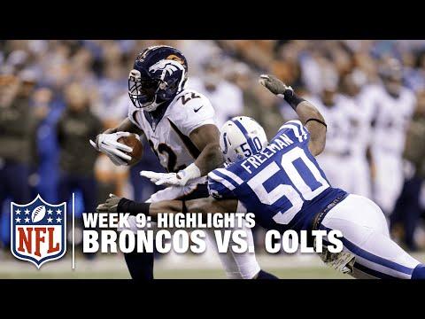 Broncos vs. Colts | Week 9 Highlights | NFL