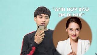 Hồ Quang Hiếu buồn thiu gọi điện mời Bảo Anh dự ra mắt tự truyện