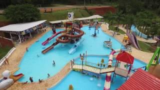 Vista Aérea de Todo o Clube Parque das Águas em Viamão