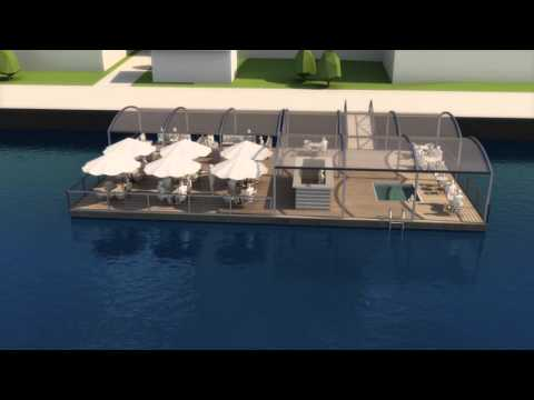 Marina Housing - floating solutions for business purposes