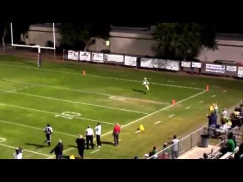 High School Football Highlights - Donovan Rooks - Yuma Catholic High School - Wide Receiver - AZ