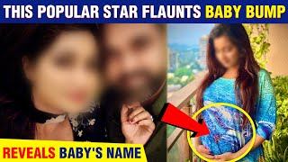This Popular Star Flaunts Baby Bump, Shares Pregnancy News With Fans