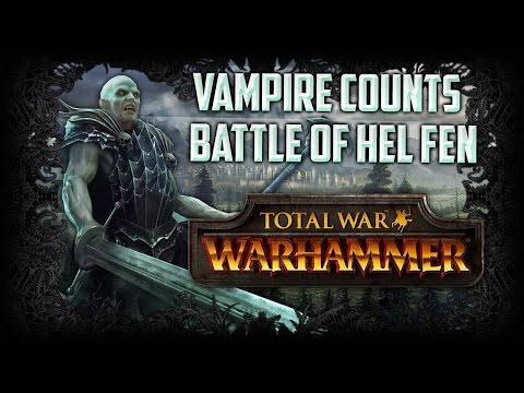 SWORD OF UNHOLY POWER! - Total War: WARHAMMER Gameplay (Vampire Counts Quest Battle)