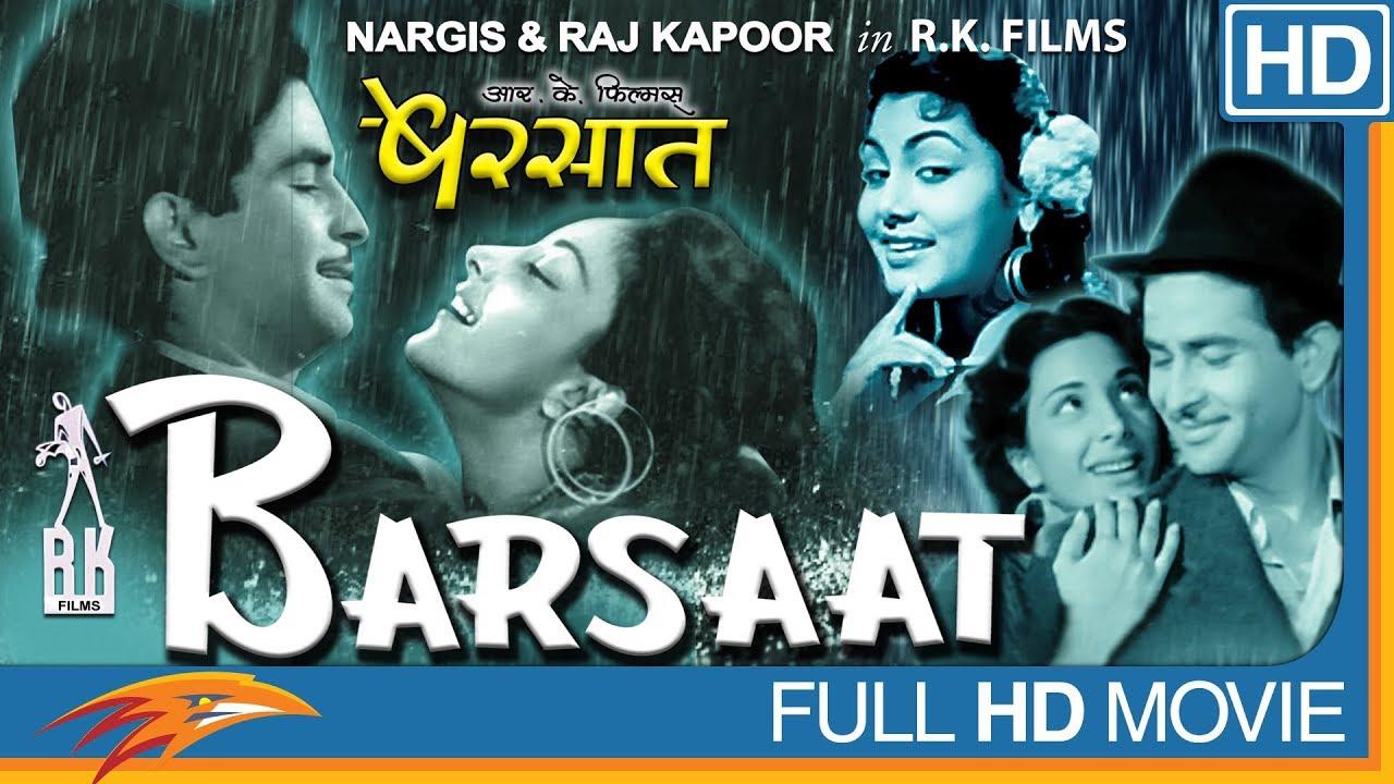 Barsaat Hindi Full Movie HD    Nargis, Raj Kapoor, Prem Nath    Eagle Hindi Movies