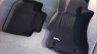 Subaru Crosstrek 3D MAXpider Floor Mat Review