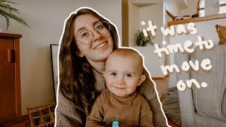 We Stopped Breastfeeding, I Cut My Hair, & Thrifting // DITL of a Pregnant SAHM