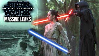MASSIVE The Rise Of Skywalker Leaks Revealed! WARNING (Star Wars Episode 9)