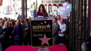 Penelope Cruz speaks on being honored with Star on the Holly